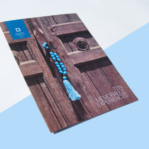 blue palace booklet