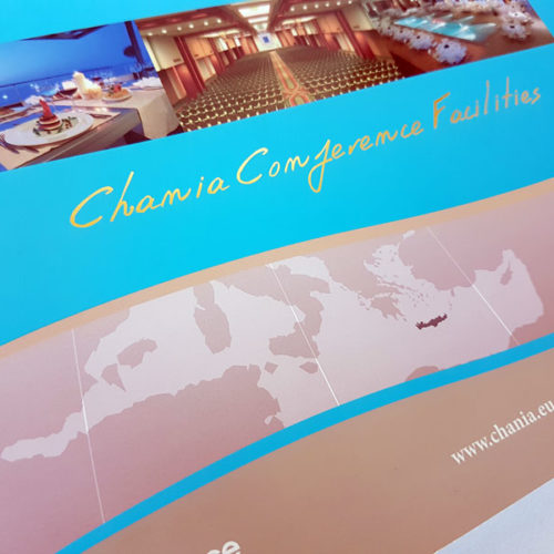 chania conference facilities leaflet