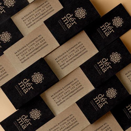 derma business card