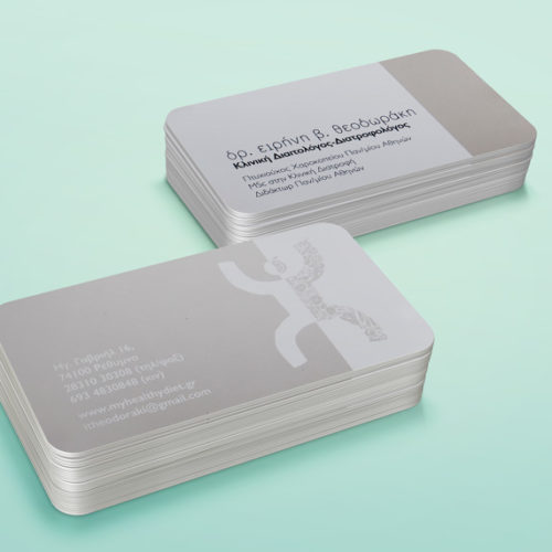 Dr Eirini Theodoraki business card
